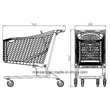 Chariot de magasinage en plastique écologique