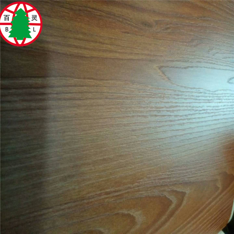 New design Synchronized grain plywood for furniture