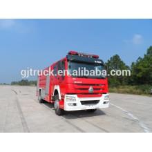 Camión de bomberos de Sinotruk HOWO 4X4 / camión de bomberos / camión de bomberos / camión de bomberos de la espuma / carro de bomberos del agua / carro de bomberos parachoques
