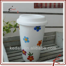 double wall mug with star design