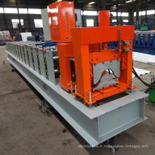 Chine fabrication afrique ghana hydralic arc vitrage tuile angle tuile en acier faisant la ligne crête chapeau rouleau formant la machine pour le toit