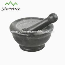Fábrica de venta más barata de mármol mortero y maja.