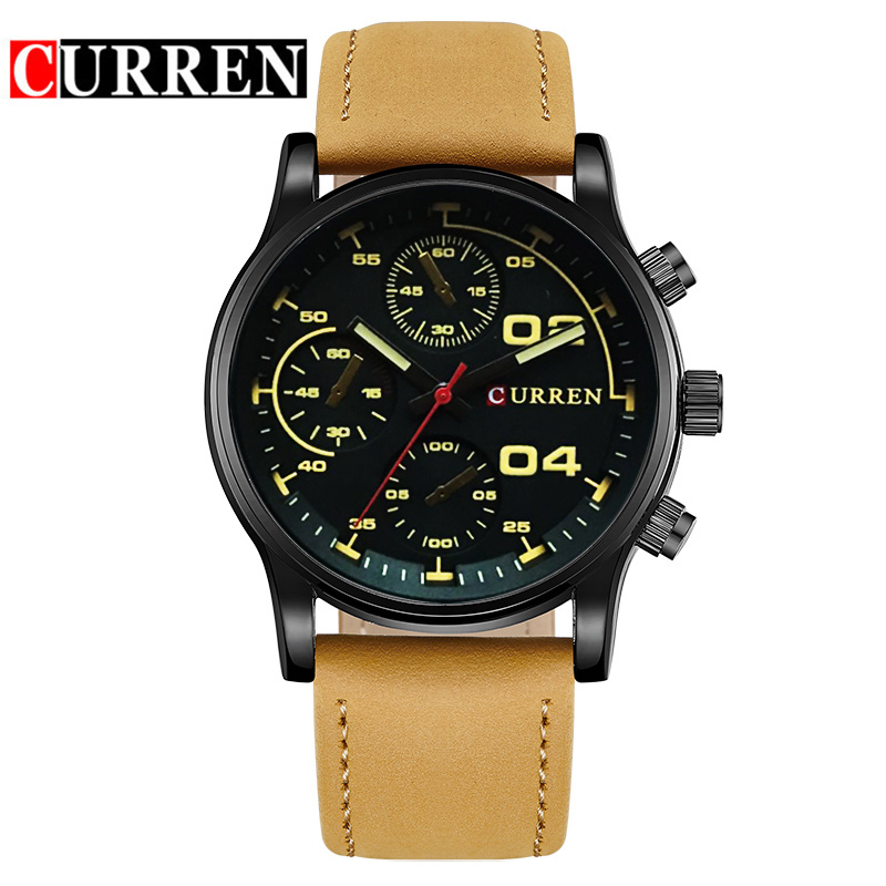 Fashion Sport Men Quartz Wrist Watches