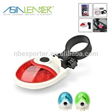 New Design UFO Shape 5LED Rear Bicycle Light
