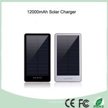 Banco solar do poder de 12000mAh da lanterna elétrica impermeável do silicone (SC-1688)