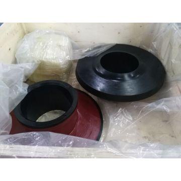 Parti di pompa di gomma liquida centrifuga a prova di acido