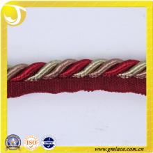 Algodón personalizado Cuerda para el amortiguador Decoración Sofá Decoración Salón Cama Habitación