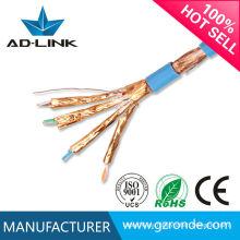 El mejor cable del cable del precio SFTP SSTP STP cobre sólido cable del gato 7