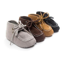 Baby High Shoes Soft Sole Anti-Slip Infant Toddler Moccasins