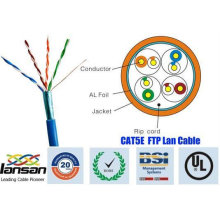 Top-Qualität 26awg ftp cat5e Kabel 4 Paar Schild mit Folie von UL genehmigt