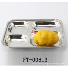 Stainless Steel Fast Food Tray (FT-00613)