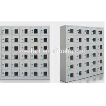 Venda quente material de aço tamanho pequeno porta telefone armário