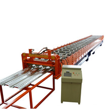 High Strength China 880 Type Bearing Full Automatic Steel Profile Structure Metal Sheet Floor Deck Making Machine