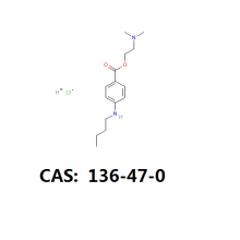 Best Price for for Tetracaine Anesthetic Drug Tetracaine HCL api tetracaine HCL intermediate cas 136-47-0 export to Swaziland Suppliers