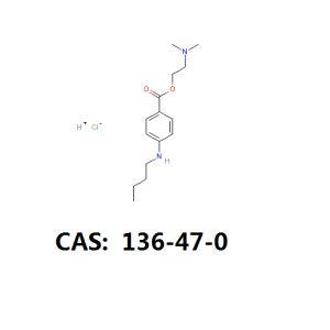 China for Anesthetic Powder Tetracaine HCL api tetracaine HCL intermediate cas 136-47-0 supply to South Africa Suppliers