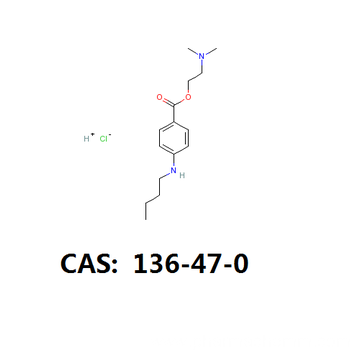 Tetracaine HCL api tetracaine HCL intermediate cas 136-47-0