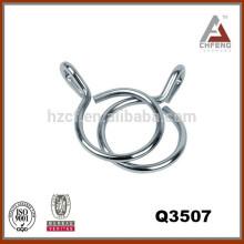 Аксессуары для карнизов Q3507, металлические кольца, кольца с кольцами, окрашенные кольца