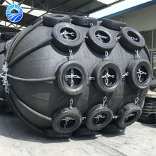 China Supplier Inflatable Rubber Fender with Nylon Rope