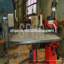 Dished head flanging machine/No Template Irregular Dished Head Folding Machine/Tank head flanging ma