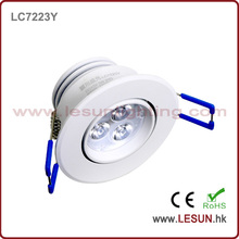 Recesso 3W LED teto gabinete luz LC7223y