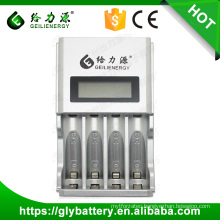 Geilienergy Rechargeable NIMH NICD AA AAA Battery Charger With 4 Slots