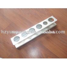 soporte de montaje de pared de metal que sella piezas de acero soporte de soporte de acero galvanizado soporte al aire libre