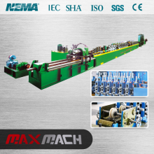 Forming machine to make steel welding tube