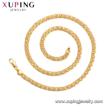 44805 xuping bijoux en alliage de cuivre costume collier de chaîne de la mode