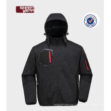 Chaqueta impermeable de OEM / ODM la chaqueta para hombre del paño grueso y suave