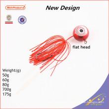 RJL012 Nueva producción de cebo artificial aparejos de pesca plantilla de goma señuelo de la pesca