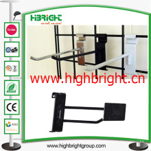 Metal Wire Rack Display J-Hook for Wire Mesh Shelf