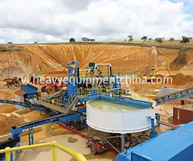 Manufactured Sand Processing Plant.