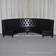 PU Leather Black Seating Booth for Party for Restaurant (SP-KS323)