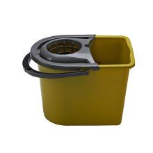2018 Nuevo diseñador de limpieza 360 Roller Magic Plastic Mop Bucket