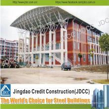 Edificio de apartamentos de varios pisos de la estructura de acero ligera de China Jdcc
