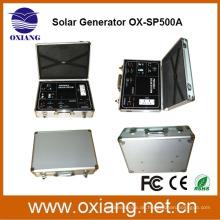 facoty großhandel DC 500 watt solar tragbare beleuchtung backup-system