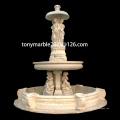 Statue Beige Marmorbrunnen für Gartendekoration (SY-F010)