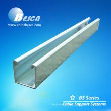 Canal de aluminio Unistrut hecho en China