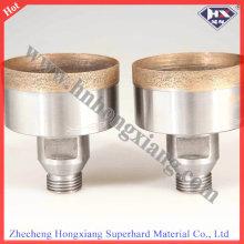 Sintered Diamond Core Drill Bit for Glass Drilling