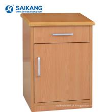 Hospital médico de madeira do armário da cabeceira das gavetas do hospital SKS020