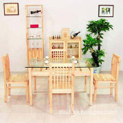 Dining Set, Includes Chair and Table, Available in Various Types
