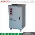SVC 30KVA Estabilizador de tensão eletrônico controlado por servo-controle automático de alta precisão trifásico trifásico