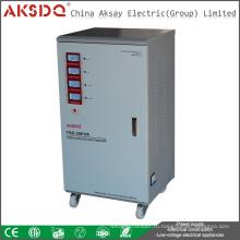 Горячий трехфазный сервомотор SVC 60KVA Автоматический стабилизатор напряжения переменного тока для промышленности
