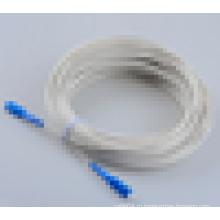SC / APC слоновая кость белый волоконно-оптический патч-корд патч-кабель хорошая продажа на рынке Европы