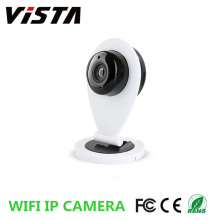 720p Wifi Mini P2P Monitor IP câmera Smartphone vista