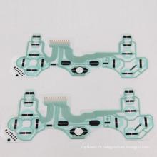Carte conductrice de rechange de ruban de film de câble de contact de carte PCB de contrôleur de rechange de carte PCB pour la pièce de réparation de contrôleur de PS3