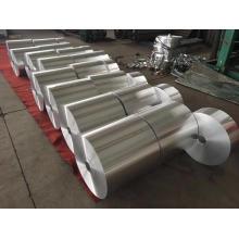 Processing custom-made aluminium foil