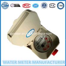 Dn15mm RF Card Prepaid Smart Tipo Medidor de Agua
