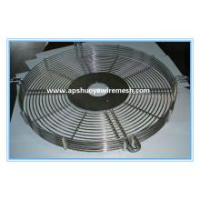 Garde industrielle en acier galvanisée de fan de zinc pour la protection d'échangeur de chaleur