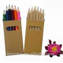 Multicolor Wooden Color Pencil Set